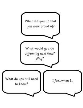Conversation Sentence Starter Cards