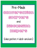Conversation Sentence Starters