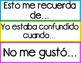 Conversation Sentence Stems in Spanish