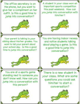 Conversation Skill Game: Jumping Into Conversation