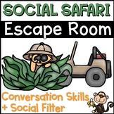 Conversation Skills Escape Room Social Safari