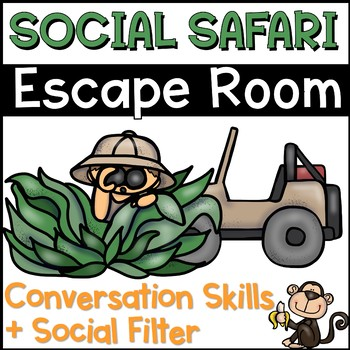 Conversation Skills Escape Room Social Safari