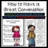 Conversational Skills - How to Have a Great Conversation