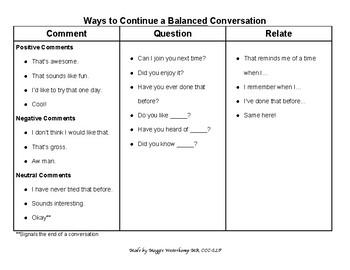 Conversation Skills Kit