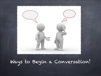 Conversation Skills Powerpoint