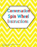 Conversation Spin Wheel