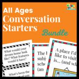 Conversation Starter Bundle for Speech: Back to School & Middle/High School