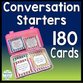 180 Morning Meeting Conversation Starters: Morning Meeting Question of the Day