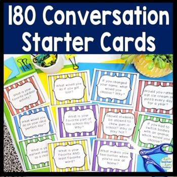 180 Morning Meeting Conversation Starters: Morning Meeting