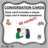 Conversation Starter Cards (60)