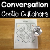 Conversation Starter Cootie Catchers (Fortune Tellers) Aut
