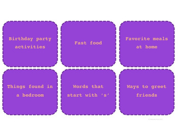 Conversation Starter Cue Cards (US Spelling) {Printables}