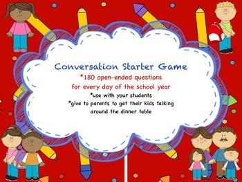 Conversation Starter Game