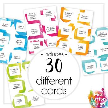 Conversation Starter Ice Breaker Cards