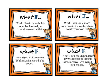 Conversation Starter/Icebreaker: What If Discussion Game