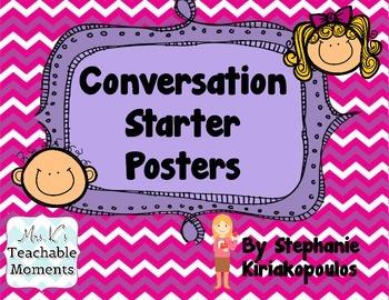 Conversation Starter Posters