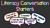 Conversation Starters [Book Response]