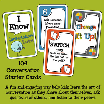 Conversation Starters Card Game