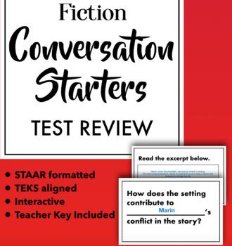 Conversation Starters: Fiction STAAR Review