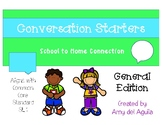 Conversation Starters - General Edition