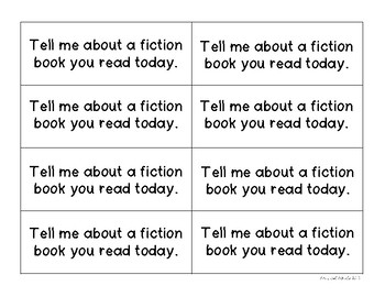 Conversation Starters - Reading Edition