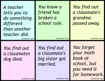 Conversation Starters Social Situations Flashcards