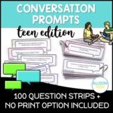 Conversation Starters Social Skills TEEN