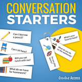 Conversation Starters for Building Social Skills and Promo
