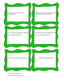 Conversation Starters for ELL or Special Needs Students