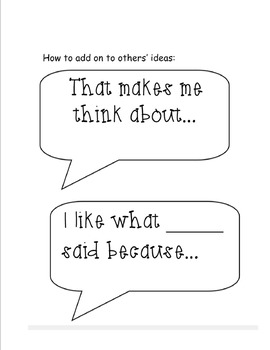 Conversation Starters for Socratic Circles and Class Discussion