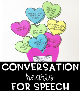 Conversation Starters for Speech Therapy