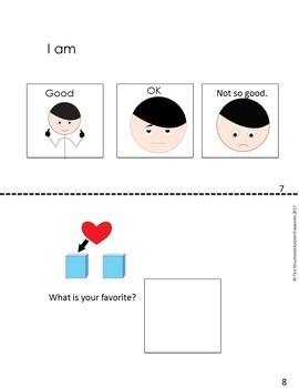 Conversation Starter Visual Support Books (Autism)