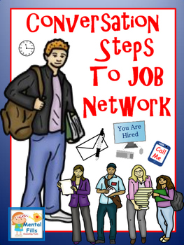 Conversation Steps to Job Network with Anyone: Using Social Etiquette