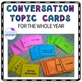 Conversation Topic Cards for the Whole Year