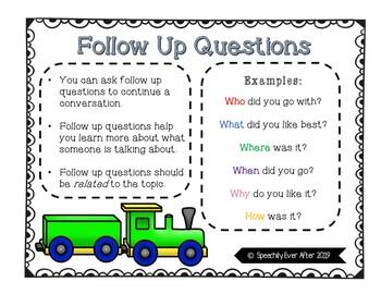 Conversation Trains- Social Skills