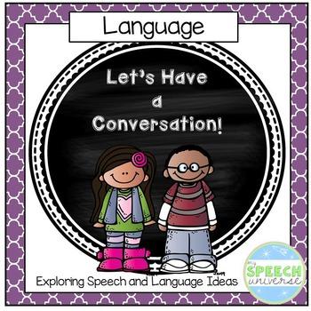 Conversation Visuals: Autism, Special Education