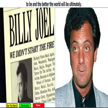 "Billy Joel explains  ""We Didn't Start The Fire"" 1989 CBS Records"