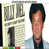 "Billy Joel explains  ""We Didn't Start The Fire"" 1989 CBS R"