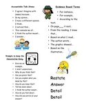 Conversation and Accountable Talk Stems AND Text-Based Terms