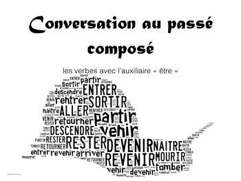Conversation au passé composé - Auxillaire ETRE