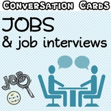 NEW VERSION - Jobs & job interviews - Conversation cards