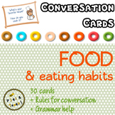 Food & eating habits - Conversation cards