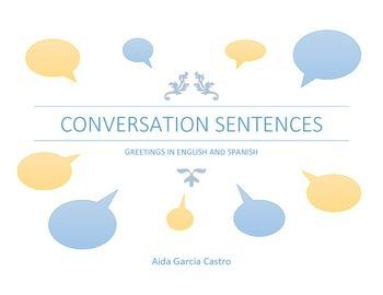 Conversation flashcard