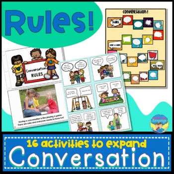 Conversation Skills Activities Games and Books for Conversation Rules