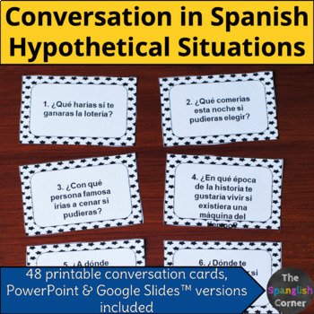 Conversation questions in Spanish | Hypothetical situations