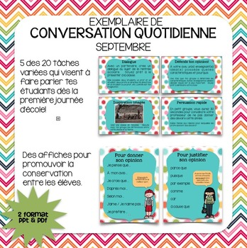 Conversation quotidienne FREEBIE
