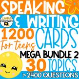 ESL Speaking and Writing Activities   Year-long resource   MEGA BUNDLE #2