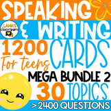 ESL Speaking and Writing Activities | Year-long resource |