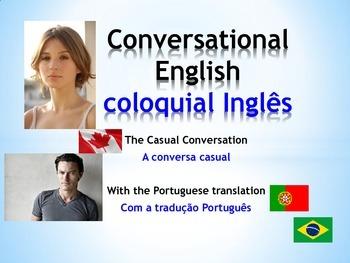 ESL Conversational English: The Casual Conversation (Portu