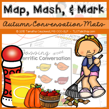 Autumn Conversation Exchange: Map, Mash, & Mark